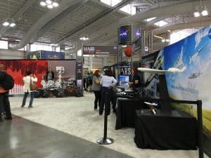 NASA Booth Back