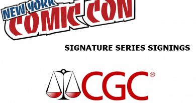 NYCC 2017 Comic Signings: CGC, DC, Image, & DarkHorse